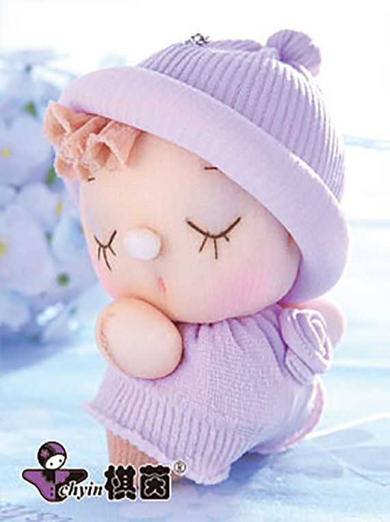 Sweetheart Candy Babies Stuffed Toy Kit by ClassyThreadsKits, $12.00