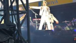 (End of) Wonderland - Take That at Carrow Road & introduction of the band.  Carrow Road Norwich. Thursday 15th June 2017.