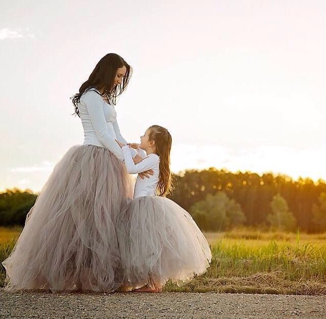 """mommy and me"" tutu available for purchase on my website."
