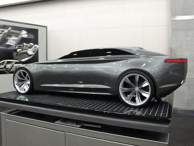 Lincoln Mkf Design Study I Ll Take Mine In Matte Black Please