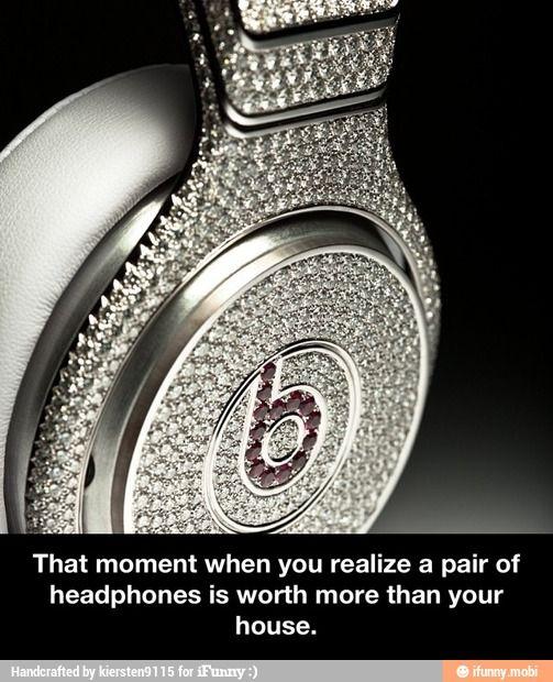 Expensive headphones / iFunny :)