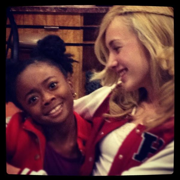 Super Cute Picture Of Peyton List And Skai Jackson January 23, 2013