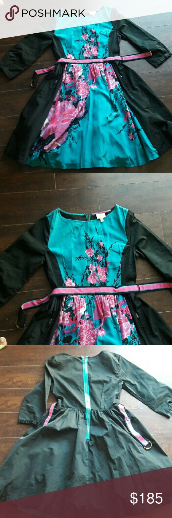 Tracy Reese dress Beautiful rate Tracy Reese dress, similar worn by taylor swift if it matters. Great condition. About 38in. In length size 4. Worn a few times. With pockets. Tracy Reese Dresses