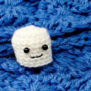 Marshmallow Amigurumi PatternMarshmallows Amigurumi, Crafts Ideas, Crochet Minimarshmallow, Crochet Amigurumi, Crochet Amigurumi Marshmallows, Easy Marshmallows, Crochet Pattern, Amigurumi Marshmallowpattern, Amigurumi Patterns