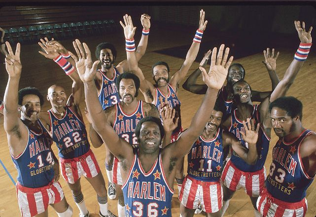 Meadowlark Lemon, Curly Neal and the Harlem Globetrotters