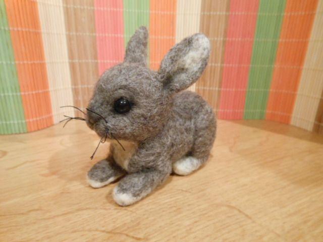 Plstěný králík
