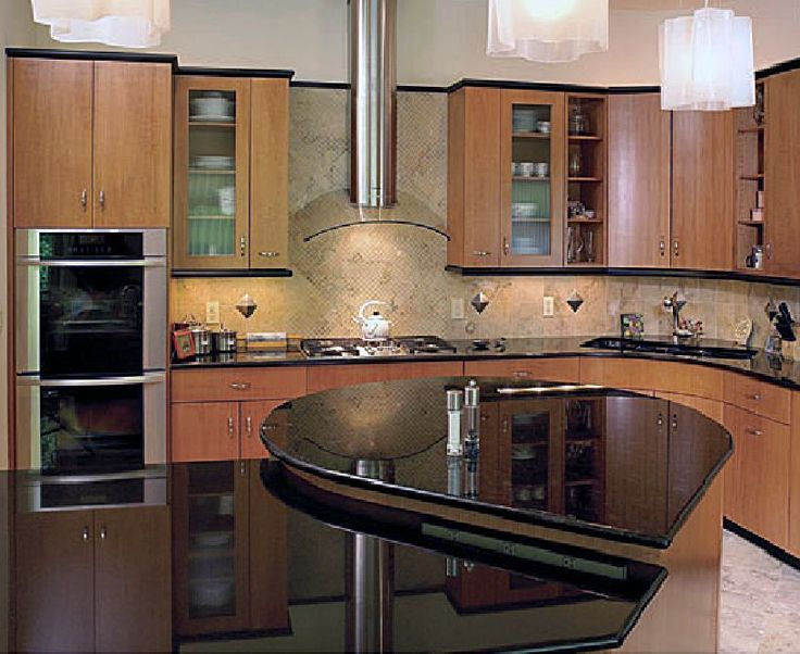 curved kitchen base cabinets help with the blind cabinet problem this is from kraftmaid - Kitchen Sink Problem