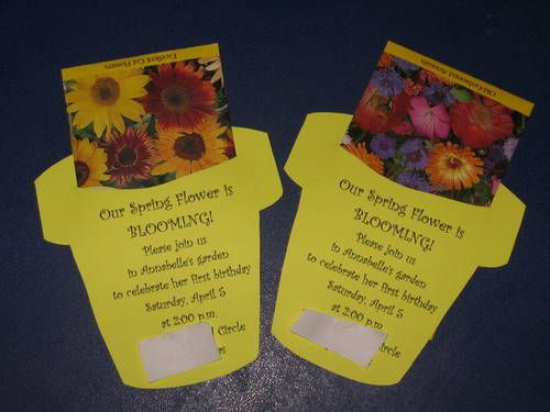 DIY Seed Packet Invite from Craftster.org...Could use as a welcome gift, and print the plan of salvation on the front.