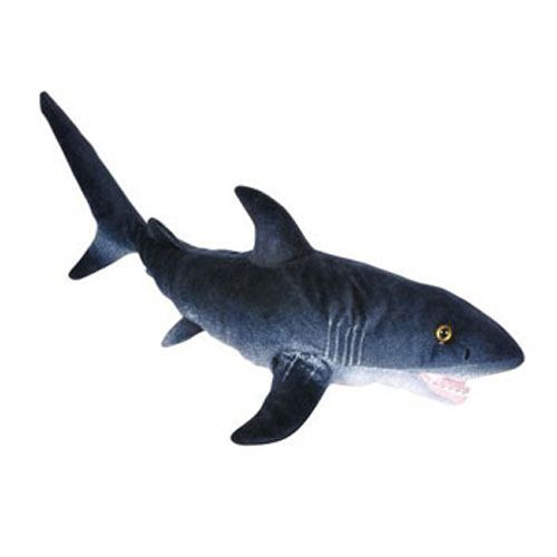 Adventure Planet Plush Printed Great White Shark 24