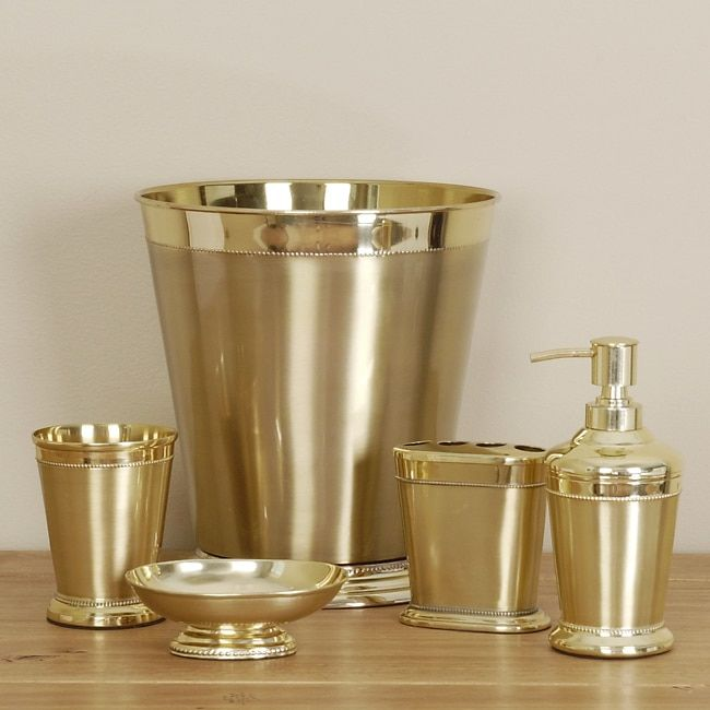 gold bathroom accessories ...