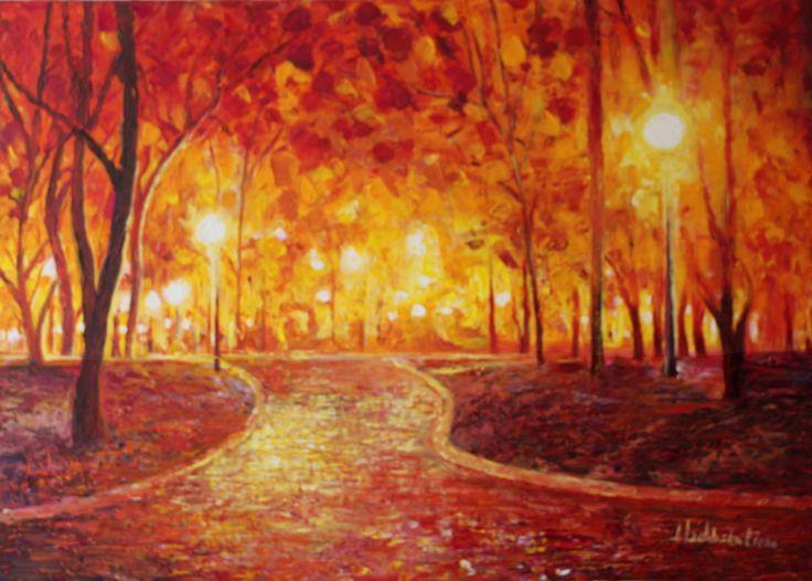 Central Park New York 2, author: Lucyna Izdebska