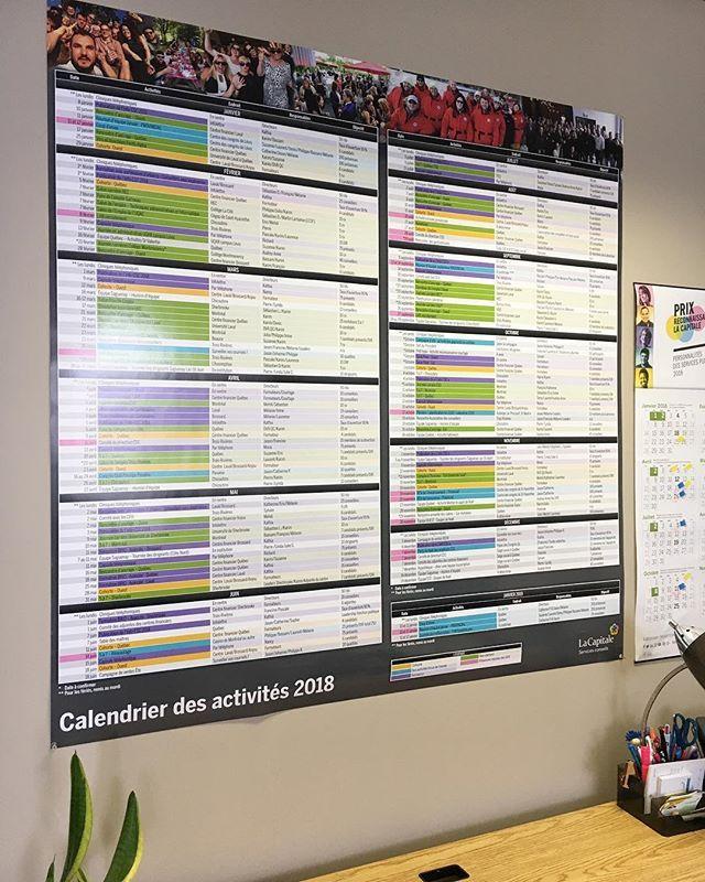 [takeover] - @laurensauclair  Dans notre secteur nous travaillons tous avec le calendrier annuel des activités grand format. Pensez-vous que cest efficace ? Moi jadore!  #laviealacapitale #takeover #intrapreneur #recrutement #servicesfinanciers #organisation101