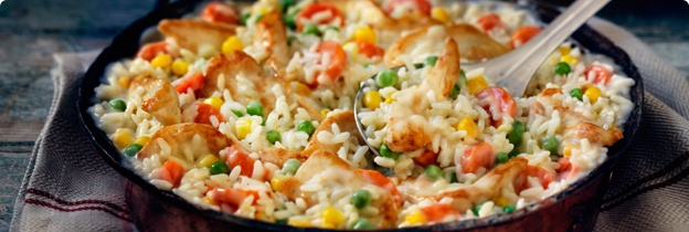 20 Minute Chicken and Rice Dinner