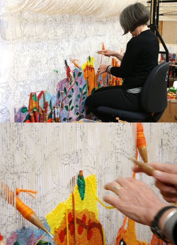 Australian Tapestry Workshop – Open House Melbourne | My Poppet Makes