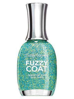 Sally Hansen Fuzzy Coat nail polish in Fuzz-Sea. New