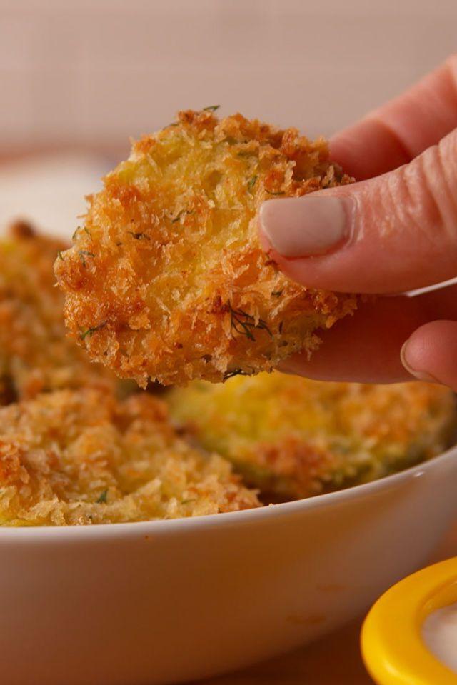 Oven Fried Pickles  - Delish.com