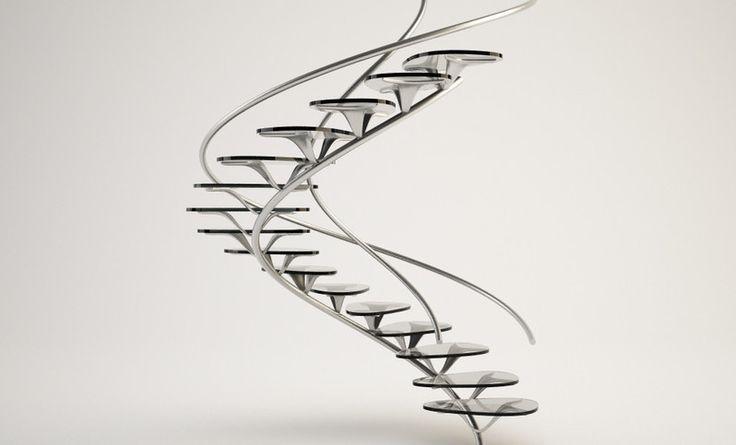 Organic Spiral Staircase