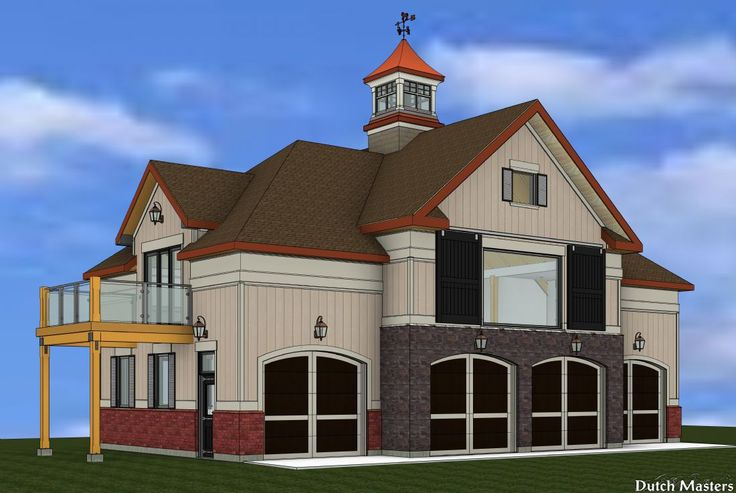 Carriage House Design - Dutch Masters Horse Barn Builders Ontario