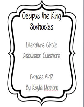 oedipus the king and the illiad Get an answer for 'draw a parallel between achilles in the iliad of homer and  oedipus in oedipus rex sophocles, and describe in what ways does each abide .