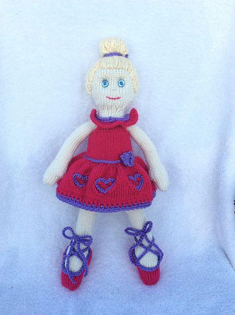 Ballerina Girl KAL- ballerina by nmujillybean- pattern by Irishmagda for prawelewe {www.prawelewe.pl}