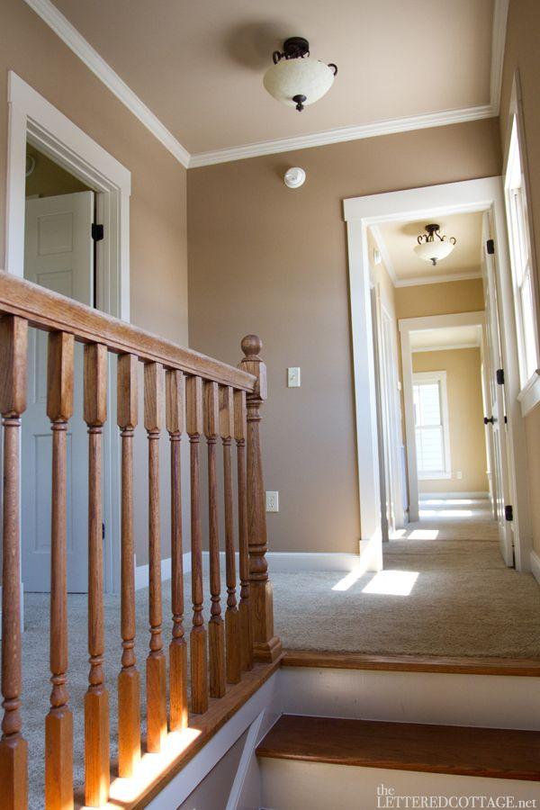 Best Wood Stairs To Carpet Transition I Like The Paint Choice 400 x 300
