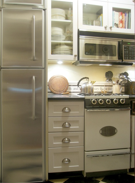 Apartmenttherpay Com Greenwich Village Apt House Tour Tiny House Kitchen Tiny Kitchen Small