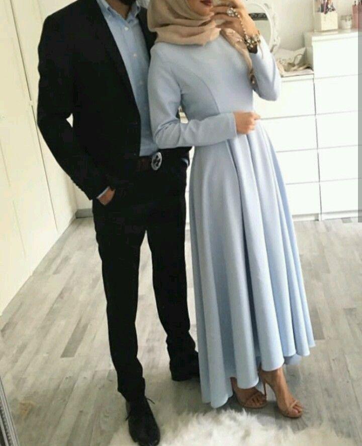 Ferdaws Adli Kullanicinin Muslim Couples Panosundaki Pin Moda Stilleri Mutevazi Kiyafetler Turban Kiyafetler