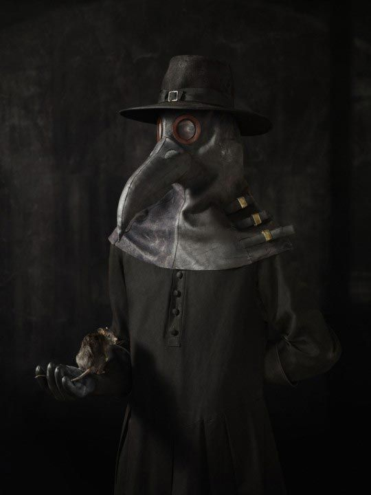 Photo by Erwin Olaf - Plague Doctor