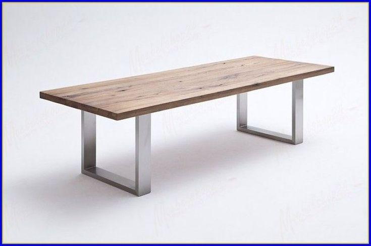 Luxus Esstisch Holz Edelstahl Ausziehbar Esstisch holz