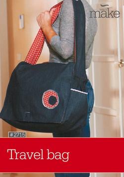 Travel bag - free pattern