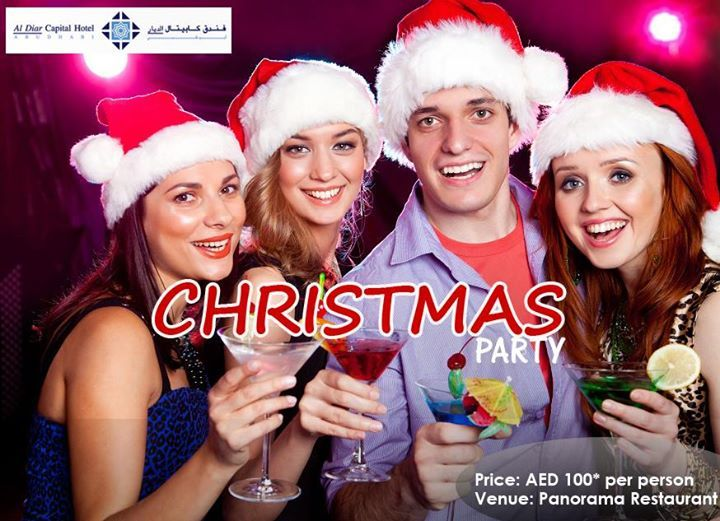 Keep calm and celebrate Christmas at Al Diar Capital Hotel. Enjoy our lavish international buffet with some classy beverages. http://bit.ly/1lwjFXn