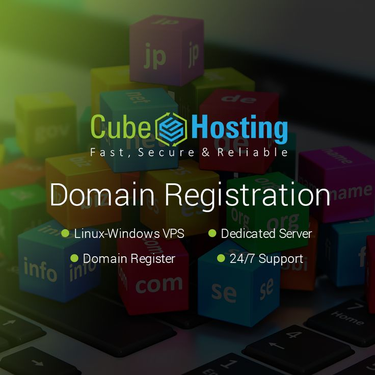 CubeHosting is a leading #Domain #Registration #Services Provider with several years of Experience in domain registration services -  https://goo.gl/F2GUQ6