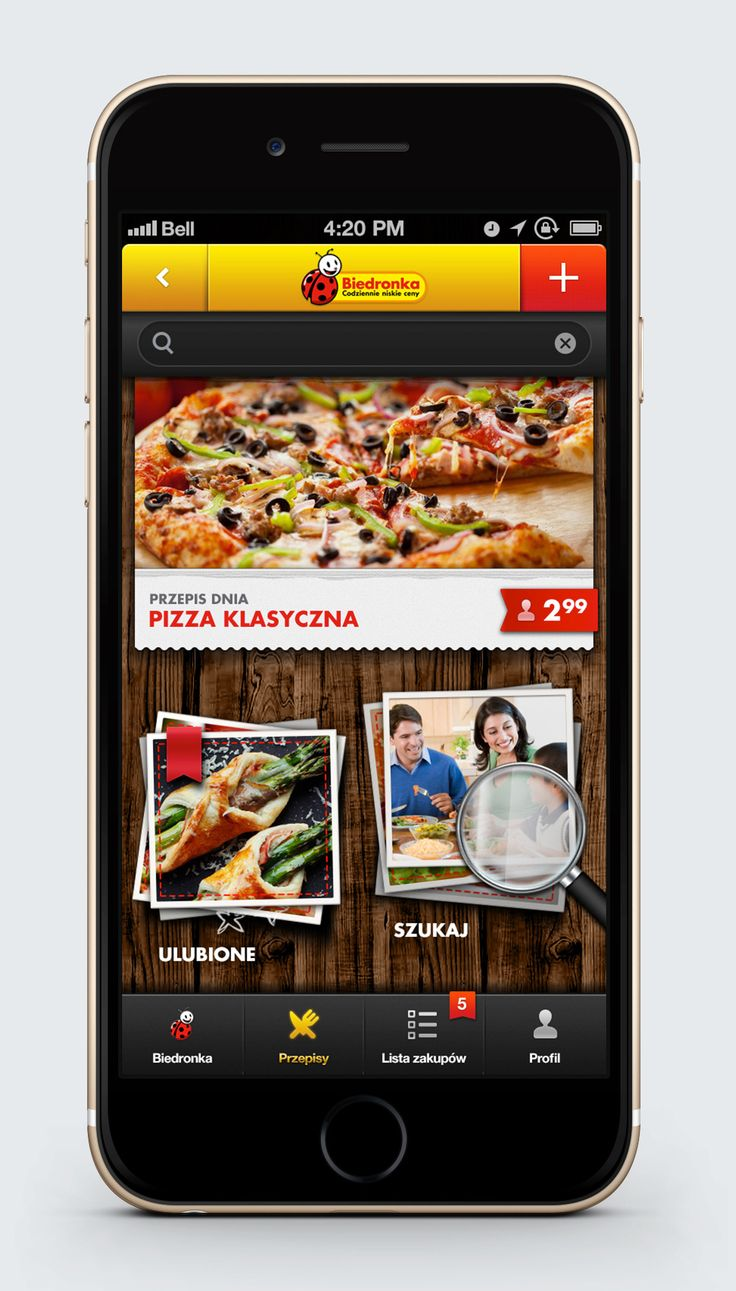 Hologram – Digital Product, User Experience and Visual Design › Biedronka Mobile App