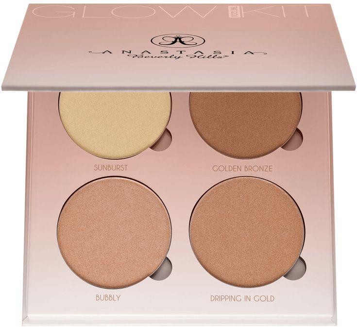 makeupbyazadig- anastasia beverly hills - france - sephora - liquid lipstick - modern renaissance - brow powder -that-glow