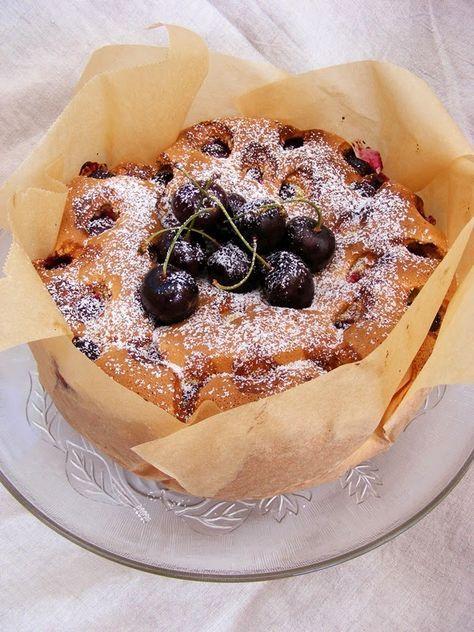 szeretetrehangoltan: Bécsi cseresznyés pite