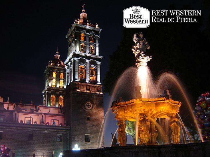 EL MEJOR HOTEL EN PUEBLA. Enmarcada por bellos paisajes montañosos y volcanes, Puebla es una de las ciudades más importantes de México. Se fundó en 1531 con el nombre de Puebla de los Ángeles, nombre que se le atribuye al grupo de ángeles que apareció en los sueños de su fundador, el Obispo Julián Garcés. En Best Western Real de Puebla, le invitamos a hospedarse con nosotros durante su próxima visita y a conocer la historia de esta hermosa ciudad. #bestwesternhotelrealdepuebla