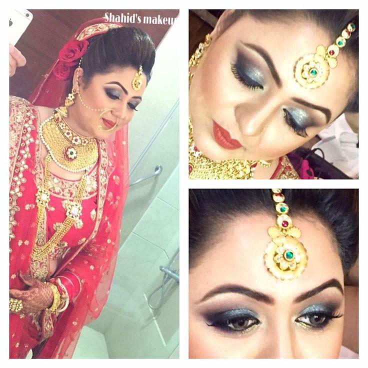 Shahid naar's makeup