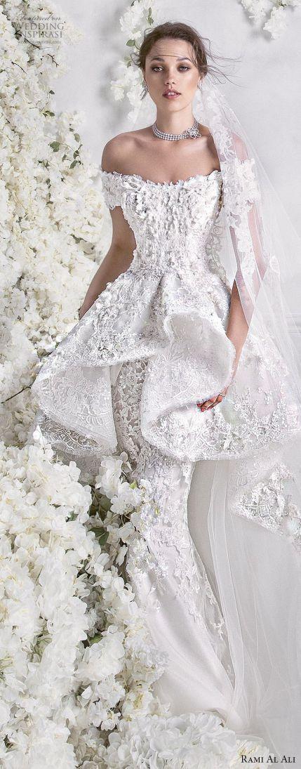 Rami Al Ali 2018 Wedding Dresses #Wedding Dresses