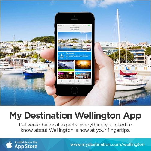 https://itunes.apple.com/app/id960252372 Tap into specialist local tips and keep up-to-date with what to see and do in #Wellington - now available to download from the Apple App Store. #newzealand