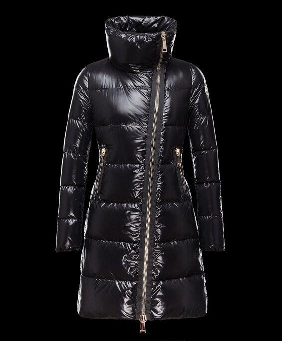 Prix de Manteau Moncler JOINVILLE veste longue femme imperméable col noi  chine