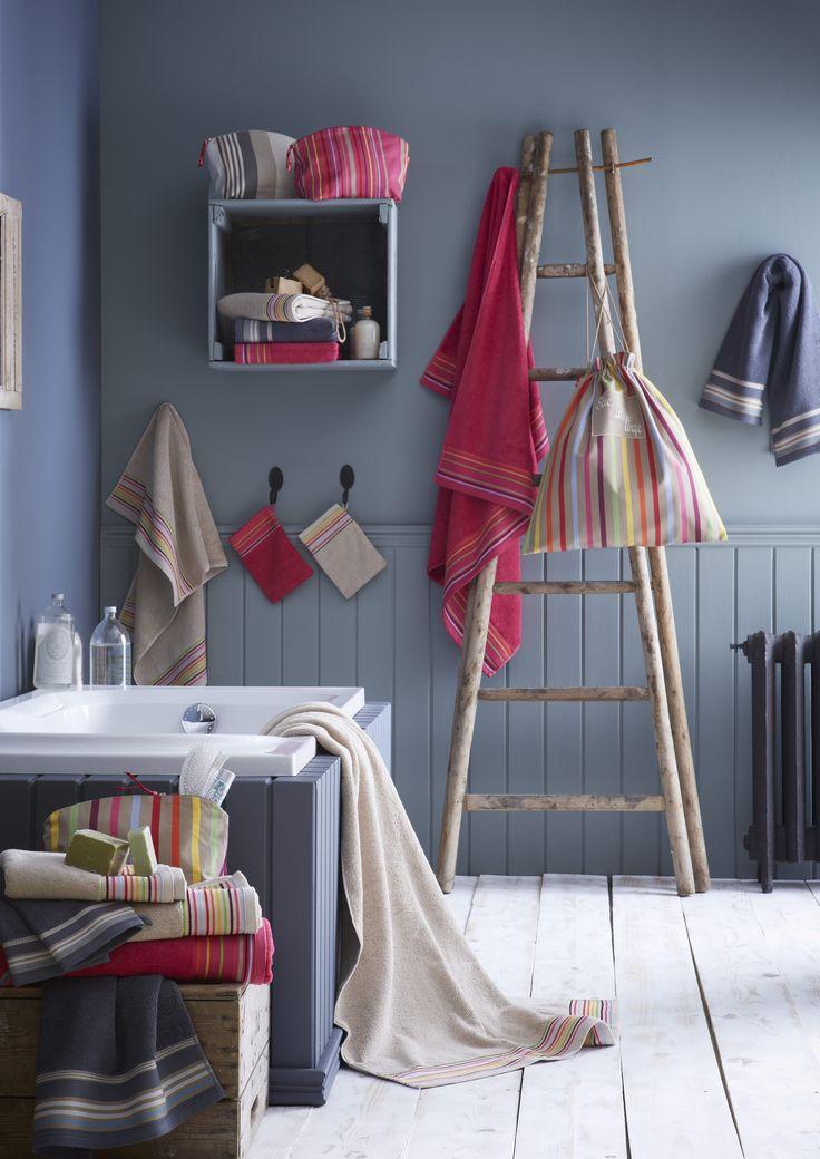 les 25 meilleures id es de la cat gorie linge basque sur. Black Bedroom Furniture Sets. Home Design Ideas