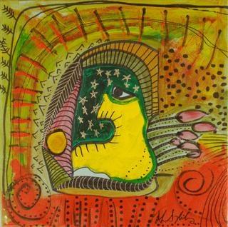 Artist Alan Syliboy   The Stone Canoe