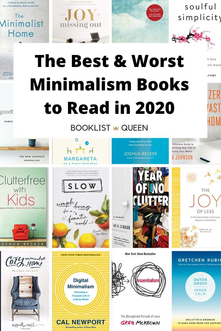 The Best And Worst Minimalism Books In 2020 Book Club Books