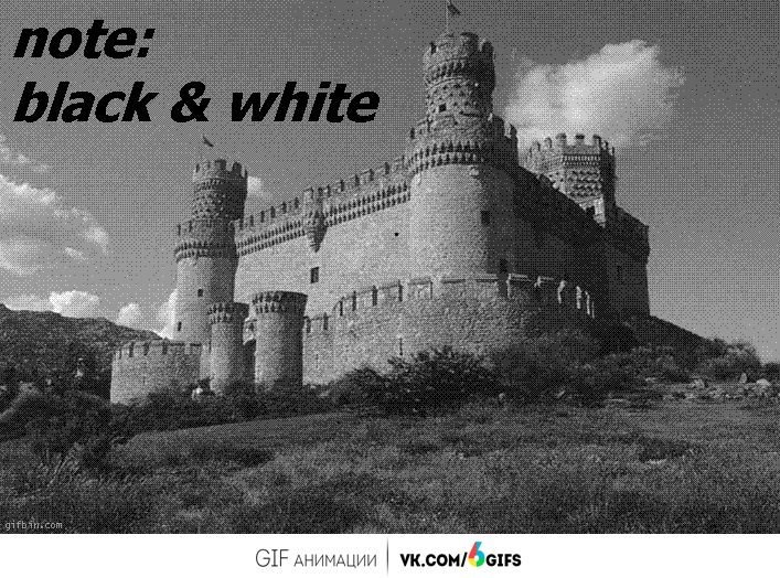 Amazing optical illusion makes black and white image appear color
