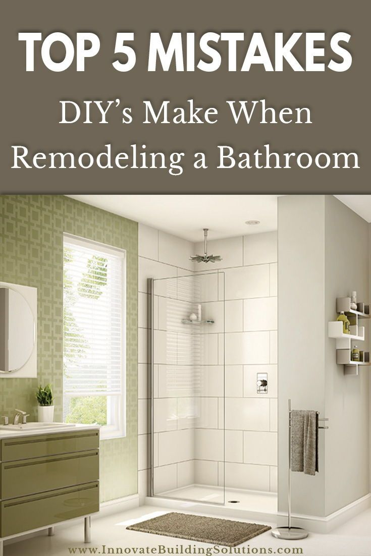 5 1 2 Rookie Mistakes Diy Ers Make Remodeling A Shower And How To