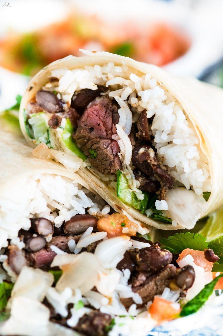 Copycat Chipotle Steak Burrito