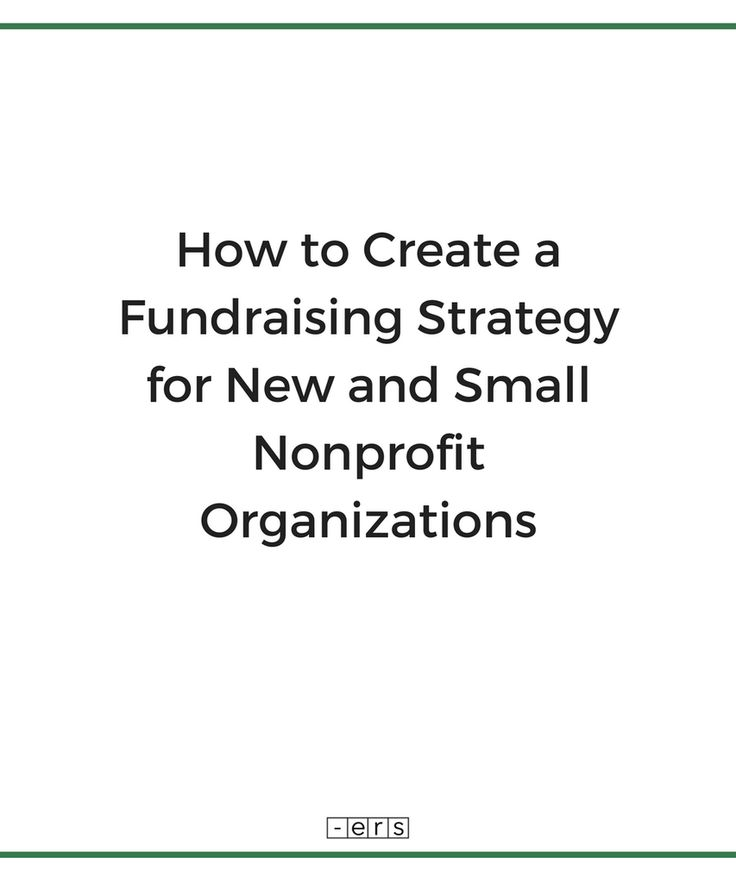 fund raising strategies Beyond fundraising: new strategies for nonprofit innovation and investment, second edition dispels these concerns and helps you: learn how to position your organization in the community as a constructive, vital, and successful social investment.