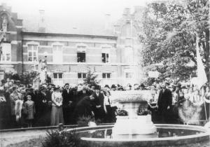 Asten : De fontein van burgemeester Wijnen