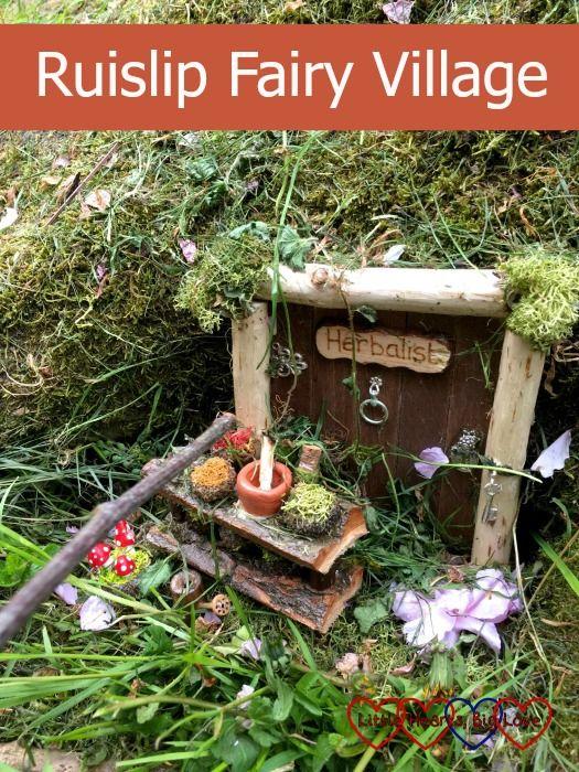 The Herbalist fairy cottage at Ruislip Fairy Village