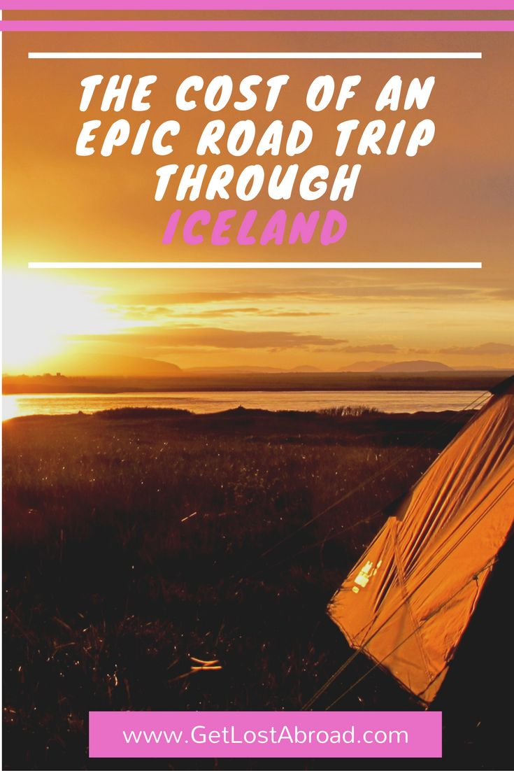 Iceland travel tips and road trips. Guide to estimating your travel budget. Do you want to know how much to budget for fuel? Or have to save on car insurance? http://getlostabroad.com/cost-epic-road-trip-iceland/